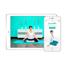 Home yoga practice mobile app